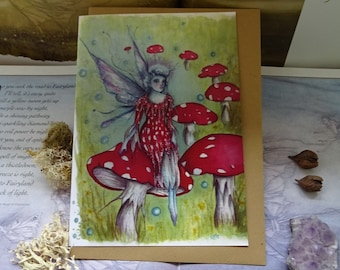 The Faerie Ring ~ A5 Art Card