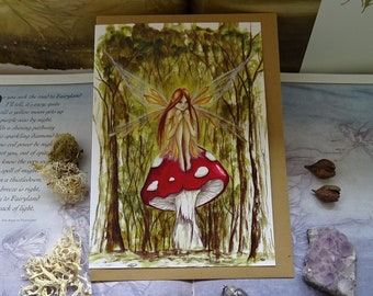 Woodland Wish A5 Art Card