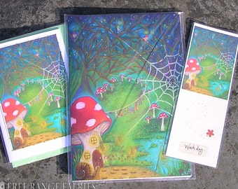 Wash Day! Notebook, Handmade Bookmark and Card Gift Set