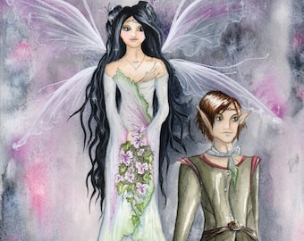 Fairytale Original Watercolour Painting