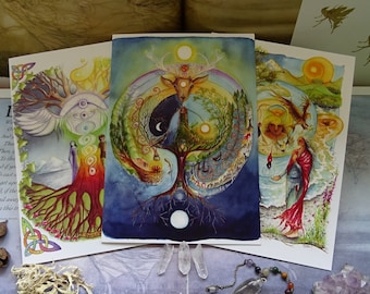 Celtic Dream ~ Pack of 3 A5 Art Cards