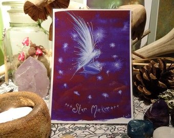 Star Maker ~ Mini Art Print