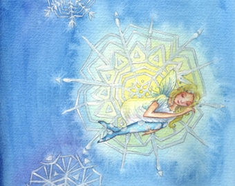 Winter Lullaby ~ Original Watercolour Painting