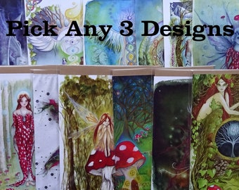 Pack of 3 A5 Art Cards ~ Choice from 22 designs