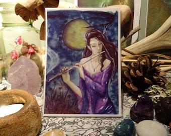 Enchanted Night ~ Mini Art Print