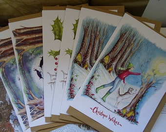 Magical Christmas Card Pack ~ 6 Card Value Pack