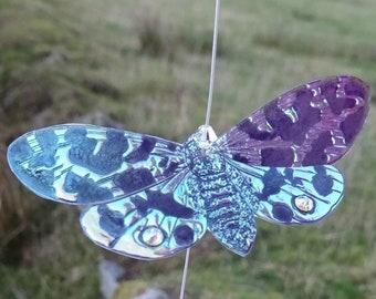 Swarovski Crystal Magical Lunar Moth Moon Catcher