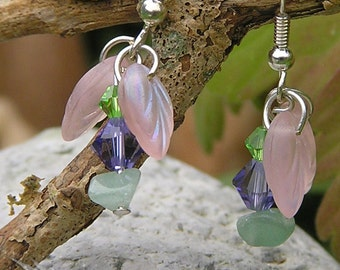 Fairy Flower Gemstone Earrings