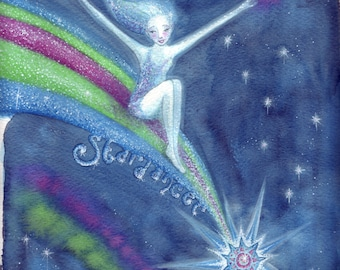 Star Dancer ~ Original Watercolour Painting