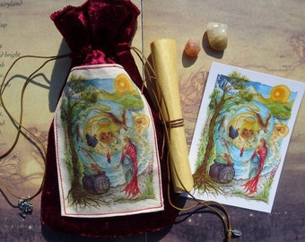 Cerridwen's Spell Blessings Pouch
