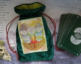 World Tree Tarot Card Bag