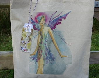 Blue Faerie ~ Tote Bag