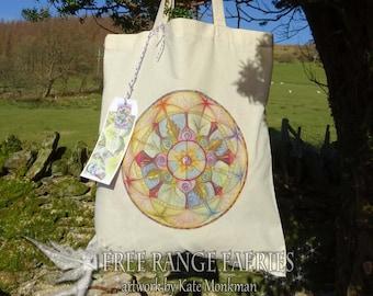 Lifeline Mandala ~ Tote Bag