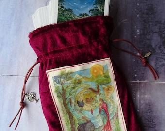 Cerridwen's Spell ~ Handmade Tarot Bag