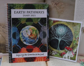 Earth Pathways 2021 Diary & Gateway Square Notebook Set
