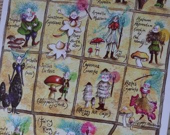 Meet the Mycelies! Mushroom Spotters Notebook!