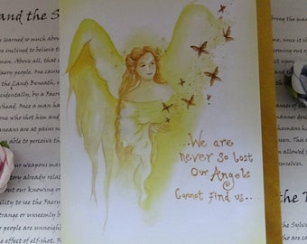 Angel Blessings ~ Art Card