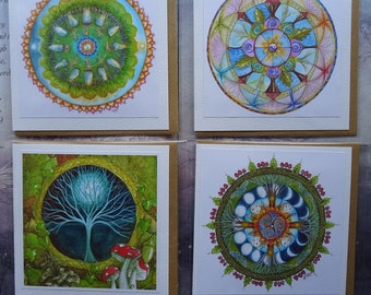 Celtic Mandala Card Pack