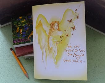 Angel Blessings Notebook