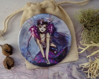 Roxy Purpletoes! Pocket Mirror