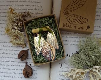 Fairy Wing Earrings, Wing Earrings, Boho Earrings, Fantasy Earrings, Faerie Wing, Iridescent, Shimmery, Costume Jewellery, Fairy Ball