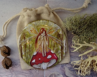 Woodland Wish Pocket Mirror