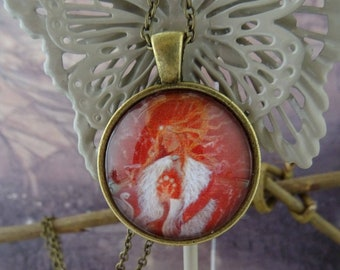 Brighid's Fire Goddess Pendant