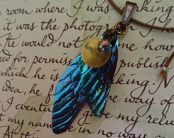 Believe Fairy Necklace ~ Northern Lights