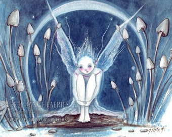 Moonbeam Faerie ~ A4 Print