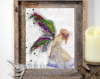 Fabric Faerie A4 Art Print