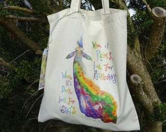 Rainbow Maker with quote ~ Tote Bag