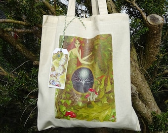 The Green Goddess  Tote Bag