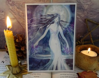 Moon Goddess Mini Art Print