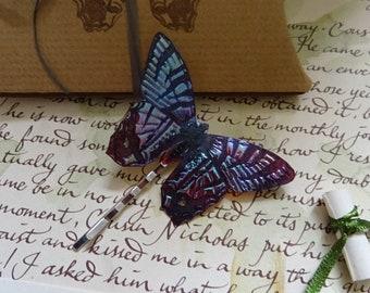 Butterfly Hairpin ~ Sugarplum