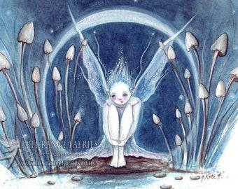 Moonbeam Faerie A4 Print
