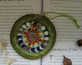 Forest Mandala Wooden Art Decoration