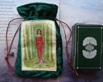 Brighid's Wood Tarot Card Bag