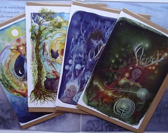 PRINTED ART CARDS