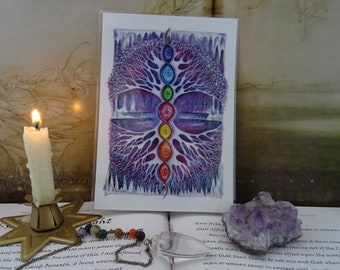 The Crystal Tree Mini Print