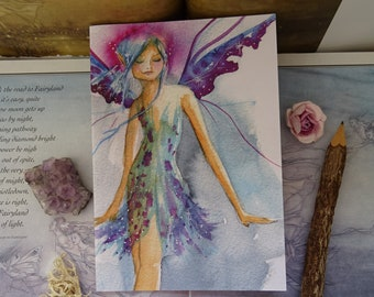 Blue Faerie ~ Notebook