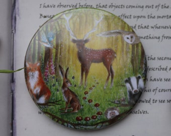 Welcome to the Wood Pocket Mirror