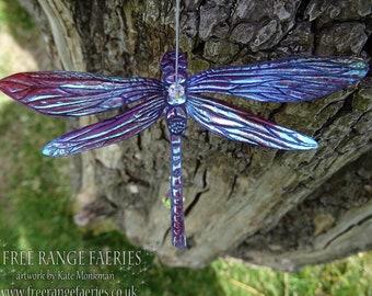 Magical Dragonfly Suncatcher ~ Sugarplum