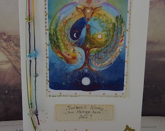 Personalised Pagan/Goddess Greetings Card