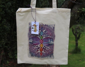 The Crystal Tree Tote Bag
