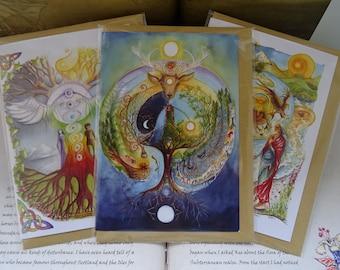 Celtic Dream ~ Pack of 3 Art Cards