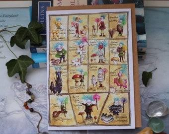 Meet the Mycelies! Greeting Card