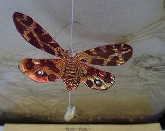 Swarovski Crystal Magical Flame Moth Moon Catcher