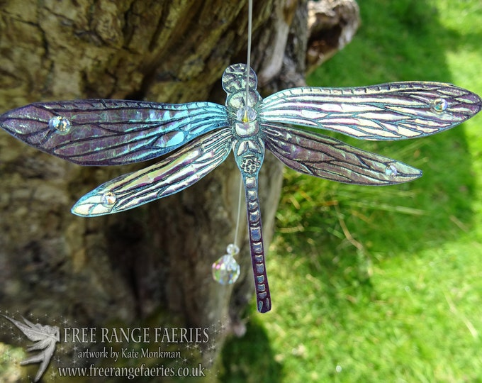 Featured listing image: Dragonfly Suncatcher ~ Iridescent