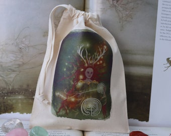 Pathweaver Tarot Card Bag/ Crystal Pouch