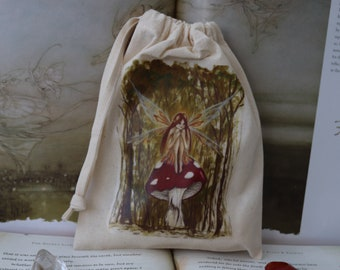 Woodland Wish Tarot Card Bag/Crystal Pouch